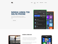 Nokia lumia home page