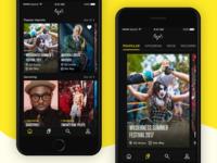 Amondo iOS - Home and Imprint