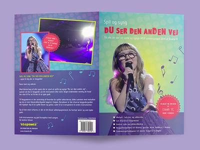 Music book cover design book cover art