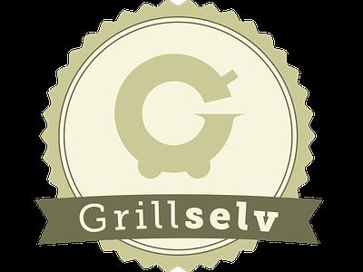 Logo suggestion for GrillSelv logo icon design branding
