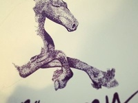 Work in progress - Wanna ride my horse?