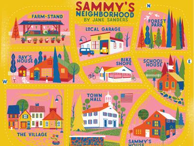 Sammy's  Map
