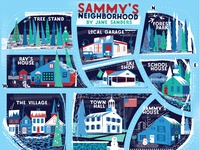 Sammy's winter neighborhood