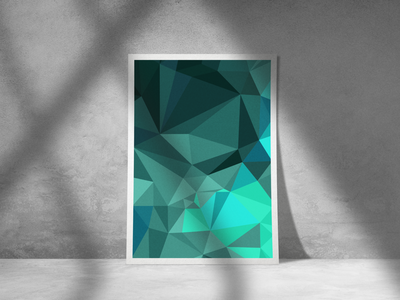 Abstract background – mockup triangular photoshop illustration mockup abstract background