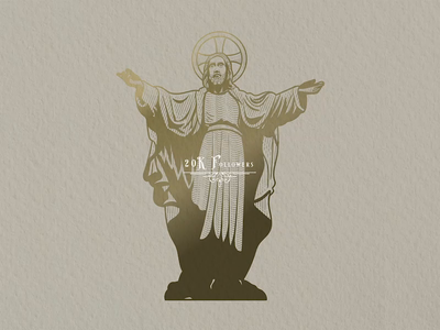 Jesus Illustration adobe illustrator wacom cintiq wacom tablet christian design christian logo christian art timelapse illustration art vintage design christian designer bible verse jesus jesus christ designer illustraion