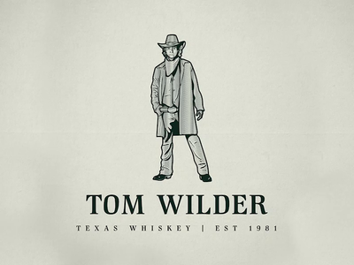 Tom Wilder | Whiskey | Logo Illustration logo time lapse process video logo illustration etching scratchboard crosshatch adobe illustrator vintage logo logo designer illustration business logo logo designer for hire logo design wacom tablet