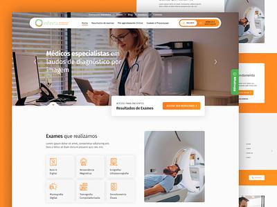 Medical site - UI website design ux ui web