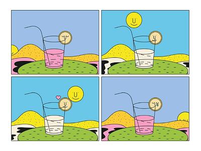 Impossible draw graphisme character design minimal digital art illustrateur illustration