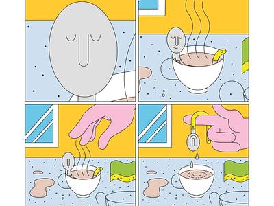 Spoon minimal character design digital art graphisme design graphic illustrator illustration