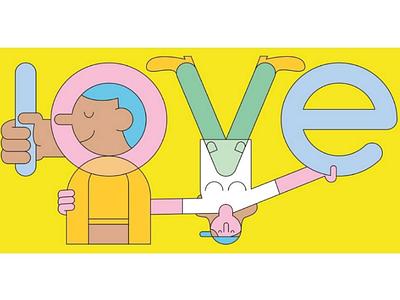 Love illustrator character art character design design draw graphisme graphic digital design illustrateur illustration