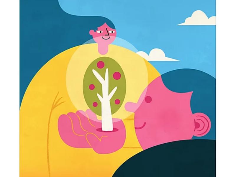 Tree tree digital art graphisme design graphic illustrator illustrateur illustration