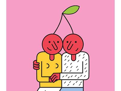 Love character design minimal digital art design graphic illustrator illustration