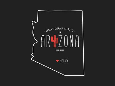 Arizona graphic state logo icon arizona