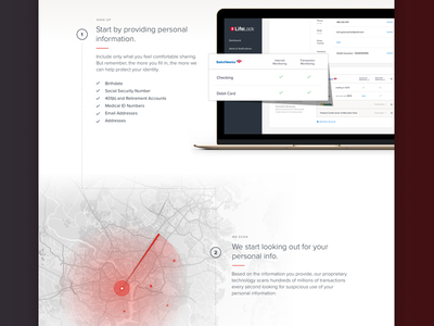 Preview of Upcoming How It Works Page design ui web branding app monitor scan user interface websites web design