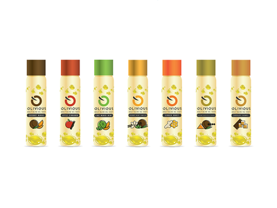 Olive Oil Illustrated Packaging