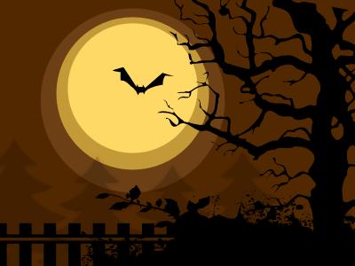 Halloween Background halloween moon fall