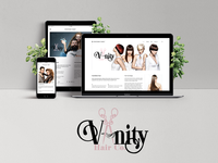 Vanity Hair Co. web showcase