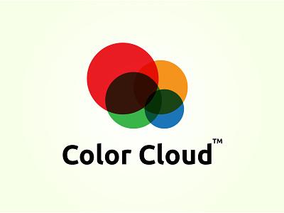 Color Cloud multiply logo cloud art color logo cloud cloud logo logo presentation graphics 2d design modern logo logo design vector illustration brand identity creative logo adobe illustrator ui graphic design branding logo