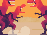 Old Dinosaurs Meet Up