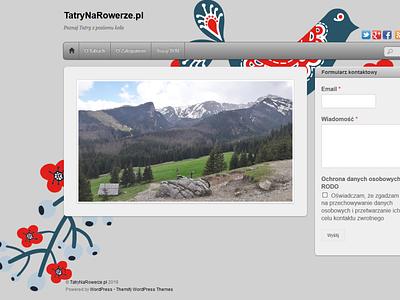 Tatra Mountains on bike website web