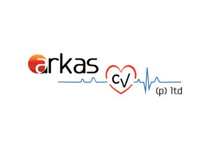 Logo Design for Arkas CV Pvt Ltd corporate identity branding design logo