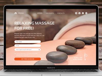 DailyUI day003 form calltoaction massage zendesign landingpage daily 100 challenge day003 dailyui ui challenge