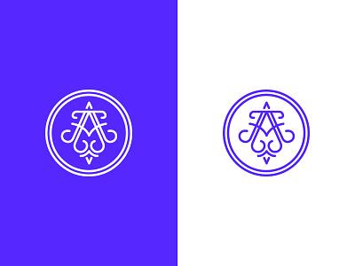 Arc of Atlantis ui woman clean blue logo beauty jewelry cosmetic
