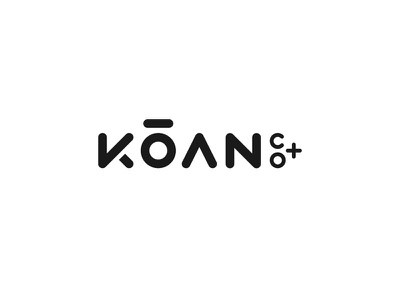 Koan Co clean simple technology feedback concept ux ui identity website brand logo