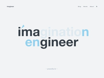 imagineer ⎶ i'm an engineer