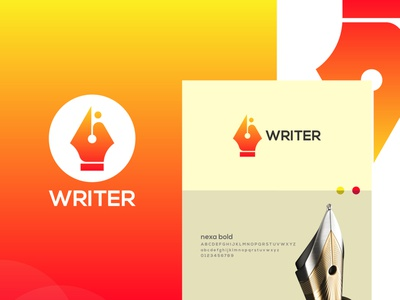 Writer ┇Human ┇Pen ┇Hand ┇Logo Design business logo luxuries logo designer logo type writer poem writer book writer writing writer logo pen logo vector logo illustration design logo modern logo design company branding creative professional