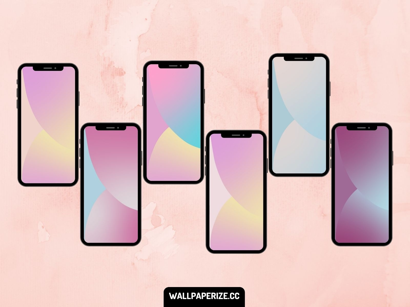 Ios 14 Wallpapers Modified To Pastel By Jorge Hardt On Dribbble
