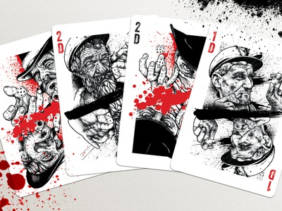 Pitman Playing Cards