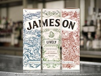 Jameson Deconstructed Series Packaging