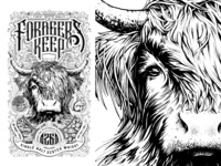 Forager's Keep whisky label_Final Art