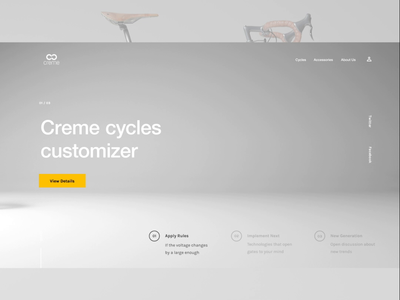 Creme concept customizer