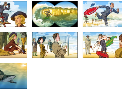 Storyboard in color