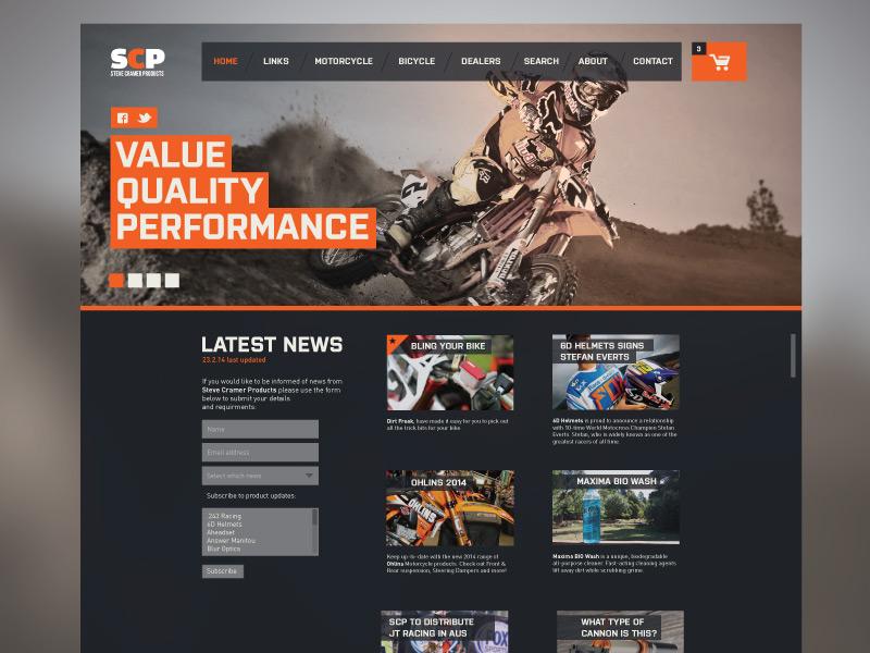 Landing page Snap landing ui minimal website sport flat branding update