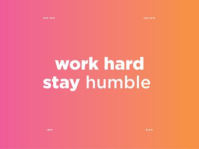 Quote Blog gradient colour simple layout gotham text minimal blog quote
