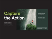 Capture the Action UI Banner