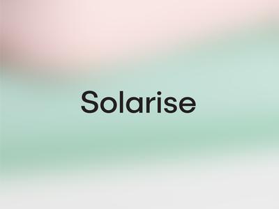 Solarise Hand Cream