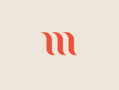 Letter m simple logo typogaphy logo vector illustration number simplicity 36daysoftype graphic design shapes simple