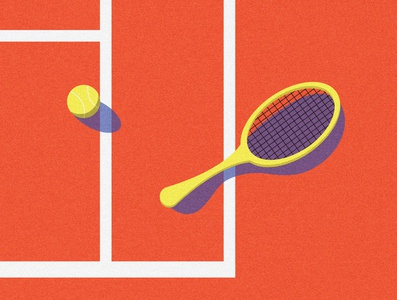 Tennis texture sport tennis grain vector design illustration graphic design shapes simple