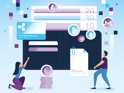 Illustration - Cryptocurrencies - Raconteur - The Times