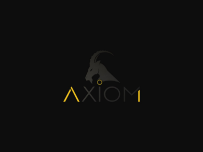 Axiom Graphic design logo