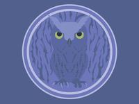 Owl Bagde