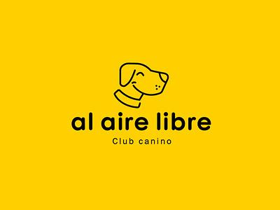 Al Aire Libre logoinpiration vector design dog logo petbrand pet imagotype logotyppe brand logodesign graphic design branding logo