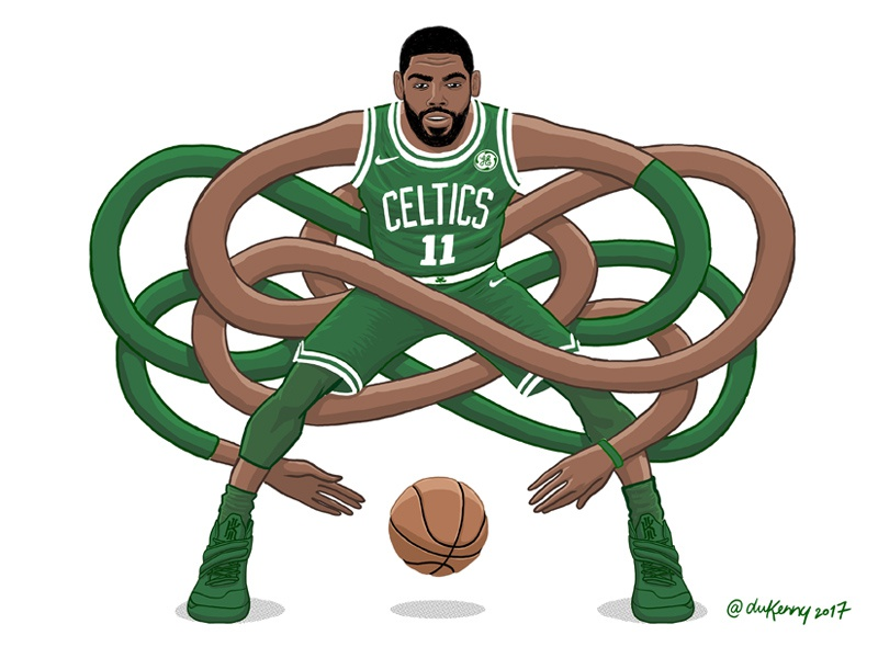 Gnarly Kyrie Handles dukenny handles gnarly dribbler hoops baller basketball celtics boston nba irving kyrie