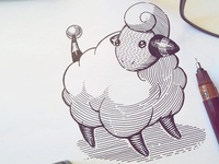 Mareep or an electric sheep chase