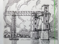 detail of the last sketch