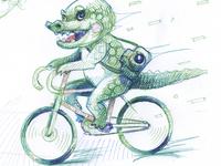 Croco Biker